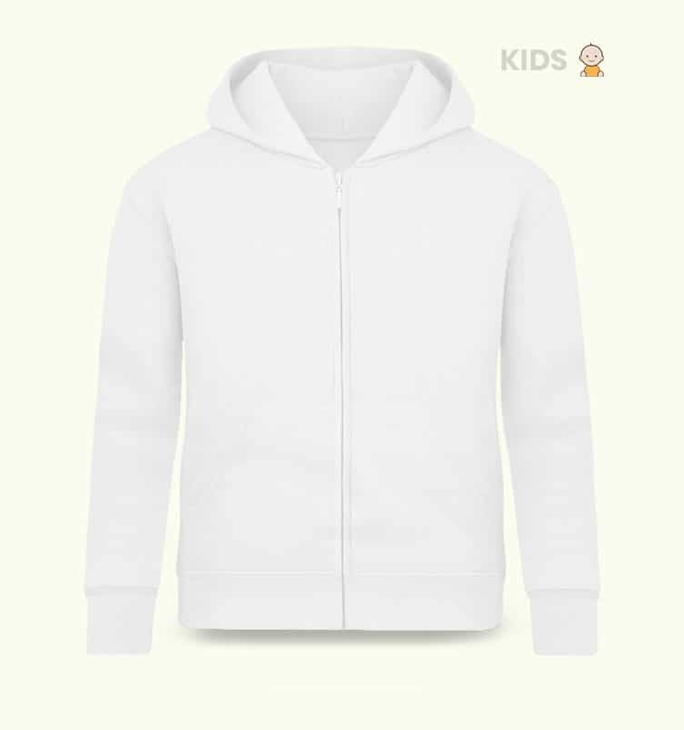 KIDS FULLZIP SHADOW FRONT