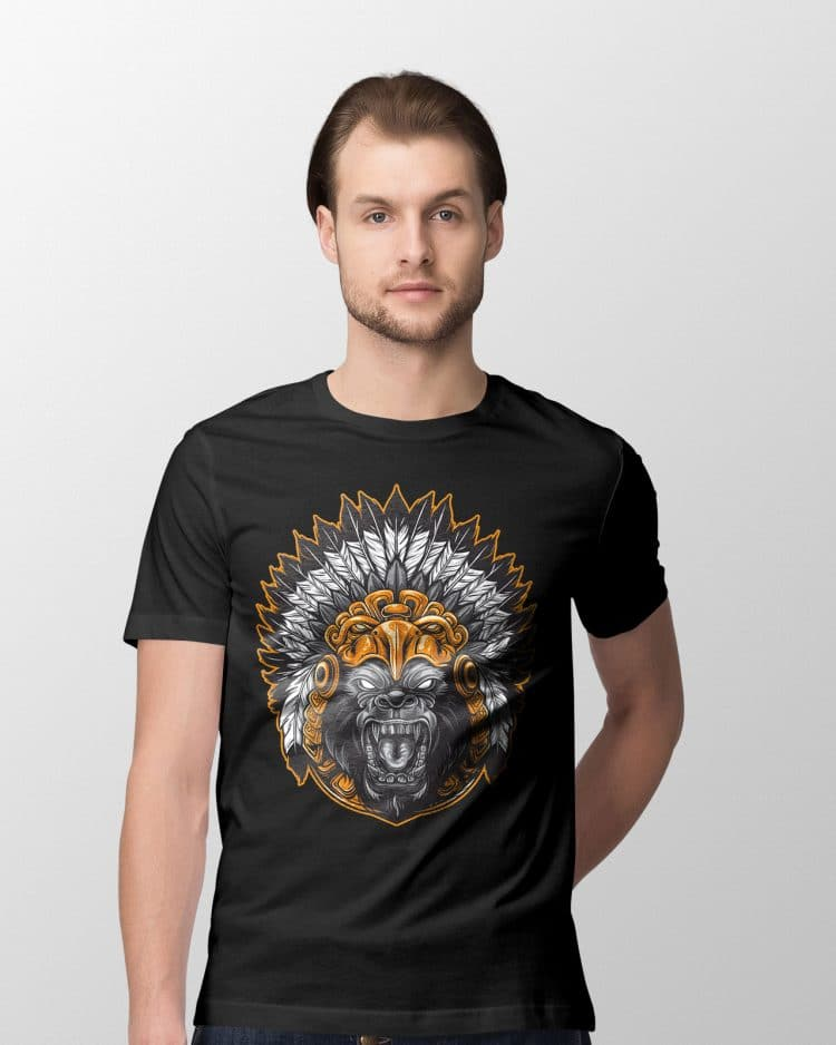 Gorilla Face T Shirts