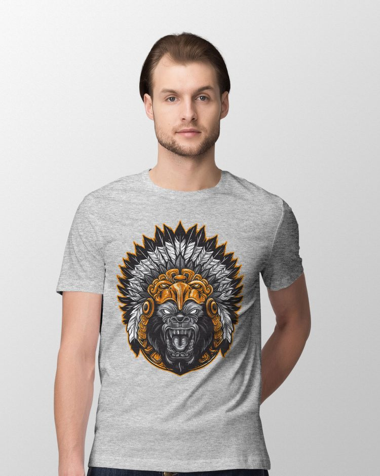 Gorilla Grey T Shirt
